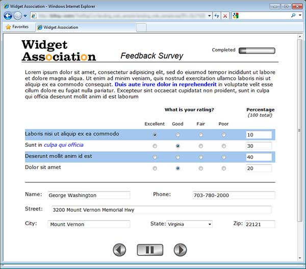 Email Questionnaire Software Surveypro